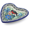 3-inch Stoneware Tea Bag or Lemon Plate - Polmedia Polish Pottery H5458I