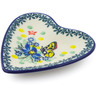 3-inch Stoneware Tea Bag or Lemon Plate - Polmedia Polish Pottery H5464I