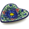 3-inch Stoneware Tea Bag or Lemon Plate - Polmedia Polish Pottery H6718J