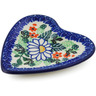 3-inch Stoneware Tea Bag or Lemon Plate - Polmedia Polish Pottery H6729J