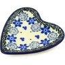 3-inch Stoneware Tea Bag or Lemon Plate - Polmedia Polish Pottery H7896E