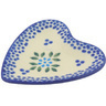 3-inch Stoneware Tea Bag or Lemon Plate - Polmedia Polish Pottery H9717E
