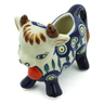 3 oz Stoneware Cow Shaped Creamer - Polmedia Polish Pottery H6057J
