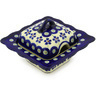3 oz Stoneware Sugar Bowl - Polmedia Polish Pottery H4582E