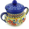 3 oz Stoneware Sugar Bowl - Polmedia Polish Pottery H4797F