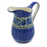 30 oz Stoneware Pitcher - Polmedia Polish Pottery H1941K