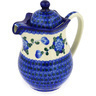 30 oz Stoneware Pitcher with Lid - Polmedia Polish Pottery H0576E