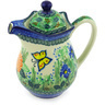 30 oz Stoneware Pitcher with Lid - Polmedia Polish Pottery H3605G