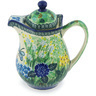 30 oz Stoneware Pitcher with Lid - Polmedia Polish Pottery H9440G