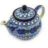 30 oz Stoneware Tea or Coffee Pot - Polmedia Polish Pottery H5565E