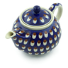 30 oz Stoneware Tea or Coffee Pot - Polmedia Polish Pottery H9844A