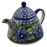 33 oz Stoneware Tea or Coffee Pot - Polmedia Polish Pottery H3775K