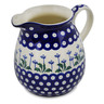 34 oz Stoneware Pitcher - Polmedia Polish Pottery H6682D