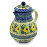 34 oz Stoneware Pitcher - Polmedia Polish Pottery H7547J