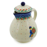 34 oz Stoneware Pitcher - Polmedia Polish Pottery H7553J