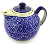 39 oz Stoneware Tea or Coffee Pot - Polmedia Polish Pottery H2603D