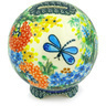 4-inch Stoneware Ball Piggy Bank - Polmedia Polish Pottery H6372G
