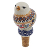 4-inch Stoneware Bottle Stopper - Polmedia Polish Pottery H6754K