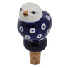 4-inch Stoneware Bottle Stopper - Polmedia Polish Pottery H6797K