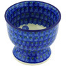 4-inch Stoneware Bowl with Pedestal - Polmedia Polish Pottery H4442G