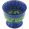 4-inch Stoneware Bowl with Pedestal - Polmedia Polish Pottery H5361G