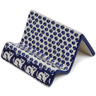 4-inch Stoneware Business Card Holder - Polmedia Polish Pottery H6694K