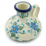 4-inch Stoneware Candle Holder - Polmedia Polish Pottery H0709I