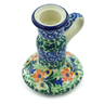 4-inch Stoneware Candle Holder - Polmedia Polish Pottery H2373B