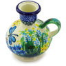 4-inch Stoneware Candle Holder - Polmedia Polish Pottery H3624G