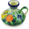 4-inch Stoneware Candle Holder - Polmedia Polish Pottery H4533G