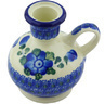 4-inch Stoneware Candle Holder - Polmedia Polish Pottery H5177G