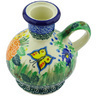 4-inch Stoneware Candle Holder - Polmedia Polish Pottery H5363G
