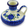 4-inch Stoneware Candle Holder - Polmedia Polish Pottery H5575G