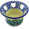 4-inch Stoneware Candle Holder - Polmedia Polish Pottery H5858G
