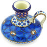 4-inch Stoneware Candle Holder - Polmedia Polish Pottery H6270G