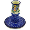 4-inch Stoneware Candle Holder - Polmedia Polish Pottery H6292F