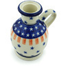 4-inch Stoneware Candle Holder - Polmedia Polish Pottery H6589H