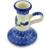 4-inch Stoneware Candle Holder - Polmedia Polish Pottery H6806G