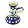 4-inch Stoneware Candle Holder - Polmedia Polish Pottery H6906G