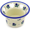 4-inch Stoneware Candle Holder - Polmedia Polish Pottery H8384D