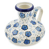 4-inch Stoneware Candle Holder - Polmedia Polish Pottery H8661K