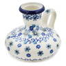 4-inch Stoneware Candle Holder - Polmedia Polish Pottery H8695K