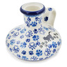 4-inch Stoneware Candle Holder - Polmedia Polish Pottery H8953K
