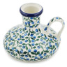 4-inch Stoneware Candle Holder - Polmedia Polish Pottery H9084K