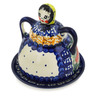 4-inch Stoneware Cheese Lady - Polmedia Polish Pottery H1193F
