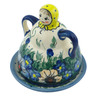 4-inch Stoneware Cheese Lady - Polmedia Polish Pottery H9672H