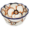 4-inch Stoneware Fluted Bowl - Polmedia Polish Pottery H3089L