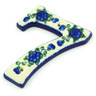 4-inch Stoneware Hanging Number - Polmedia Polish Pottery H5908G