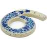 4-inch Stoneware Hanging Number - Polmedia Polish Pottery H8933J