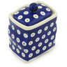 4-inch Stoneware Jar with Lid - Polmedia Polish Pottery H1014H